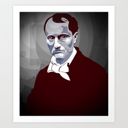 Baudelaire Art Print
