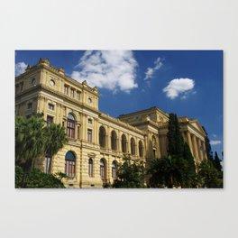 museu paulista Canvas Print