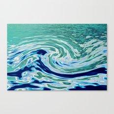 OCEAN ABSTRACT 2 Canvas Print