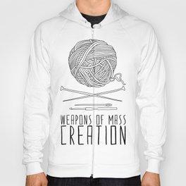 Weapons Of Mass Creation - Knitting Hoody
