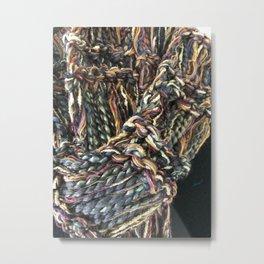 Knitter 3 Metal Print