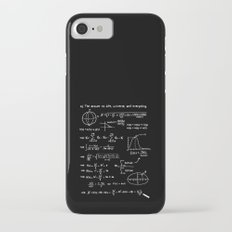 The answer to life, univers, and everything. iPhone 8 Slim Case
