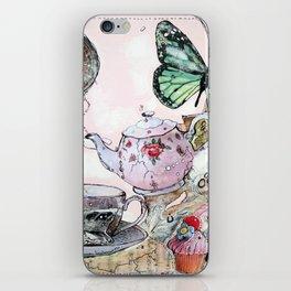TEA TIME - madewithunicorndust by Natasha Dahdaleh iPhone Skin