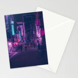 Akihabara backstreets Stationery Cards