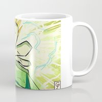 kindle Mugs featuring Light in Doomsday by garciarts