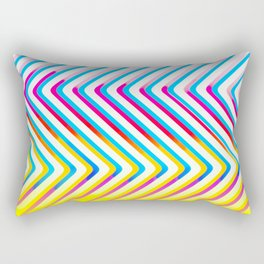 Pop Optical Art Rectangular Pillow