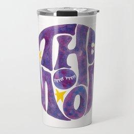 The Groovy Moon - Purple Palette Travel Mug
