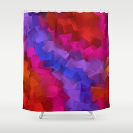 beautiful colors -ee- Shower Curtain