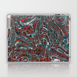 Water Marble Laptop & iPad Skin