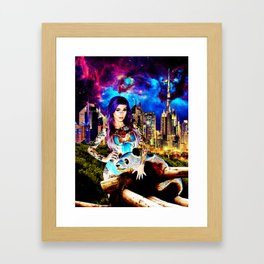 Lisa Frank Beyond Thunderdome Framed Art Print