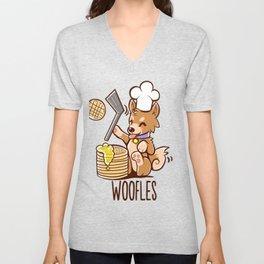 Im Making Woofles Unisex V-Neck