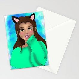 Jewel the Neko Stationery Cards