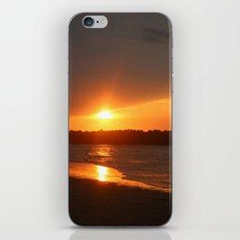 Sunset Over The Waterway iPhone Skin