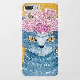 Frida Catlo in Blue iPhone Case