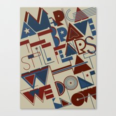 America the Brave Canvas Print