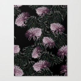 Night Floral Canvas Print