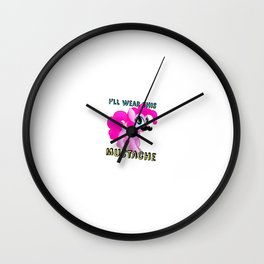 Pony Cute Horse Wall Clock