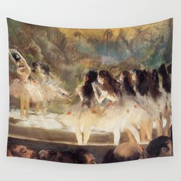 Ballet At The Paris Op Ra 1877 78 By Edgar Degas   Reproduction   Famous French Painter Wall Tapestry