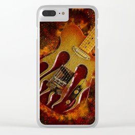 Telecaster guitar Clear iPhone Case