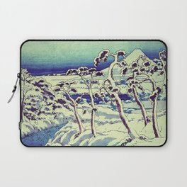Path in the Snow Laptop Sleeve