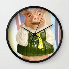Nat West Piggy Bank Ceramics Wall Clock