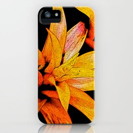 Yellow Bloom iPhone Case