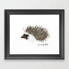 Hedgehog Framed Art Print