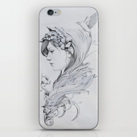 Hooded iPhone Skin