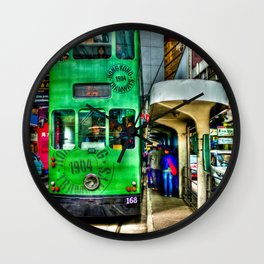 Ding Ding Cable Car Wall Clock
