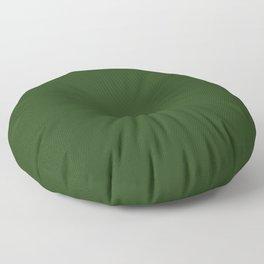 Dark Forest Green Color Floor Pillow