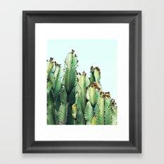 Cactus Love #society6 #decor #buyart Framed Art Print