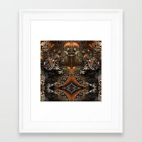 mother Framed Art Prints featuring Mother by Robin Curtiss