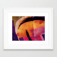 makeup Framed Art Prints featuring Makeup by Cylena Young