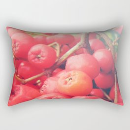 Rowan Berries Rectangular Pillow