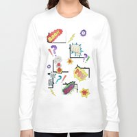 comic book Long Sleeve T-shirts featuring Comic Book by michaelrosen