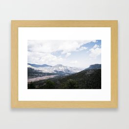 Majestic View Framed Art Print