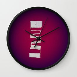 Pieces Wall Clock