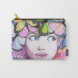 Rainbow Butterflies Carry-All Pouch