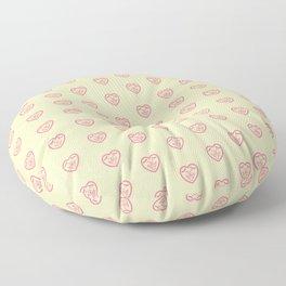 Puppy Love (Pink) Floor Pillow