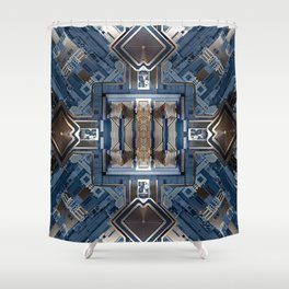 X-CHIP SERIES 02 Shower Curtain