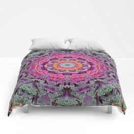 Kale mandala Comforters