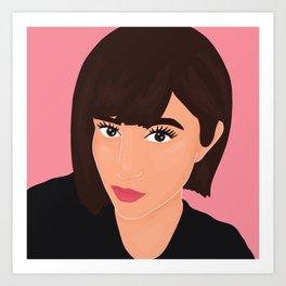 @gamzelashes.me Art Print