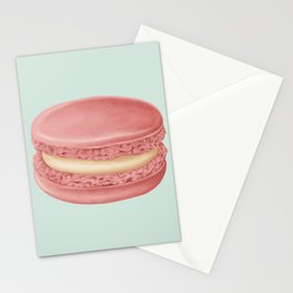 French Macaroon Stationery Cards