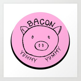 BACON Art Print