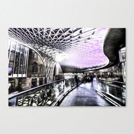 Kings Cross Station Art Canvas Print