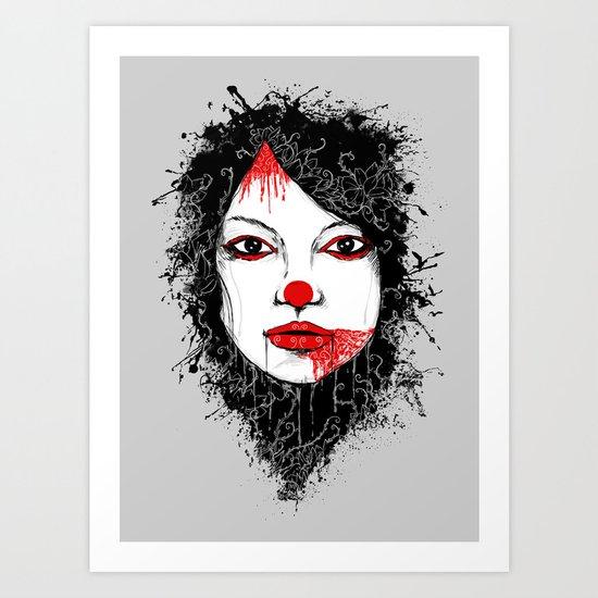 The Harlequin Art Print