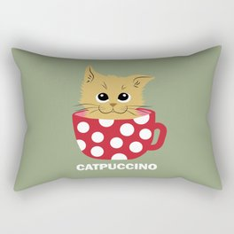 Catpuccino Rectangular Pillow