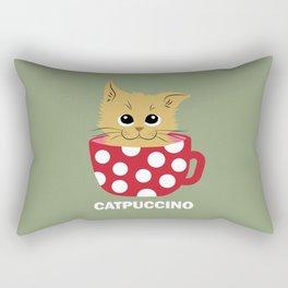 Catpuccino Rectangular Pillow