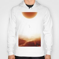 bruno mars Hoodies featuring Mars Diving by Stoian Hitrov - Sto