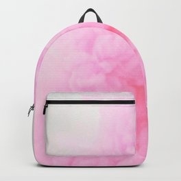 Pink Neon Smoke Clouds Backpack
